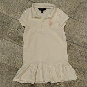 Polo Ralph Lauren little girls tennis dress